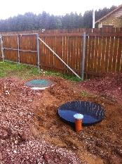 монтаж канализации зимой